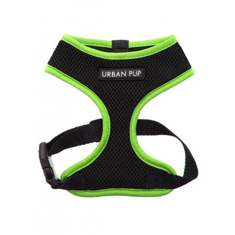 Postroj pro psy URBAN PUP neon green