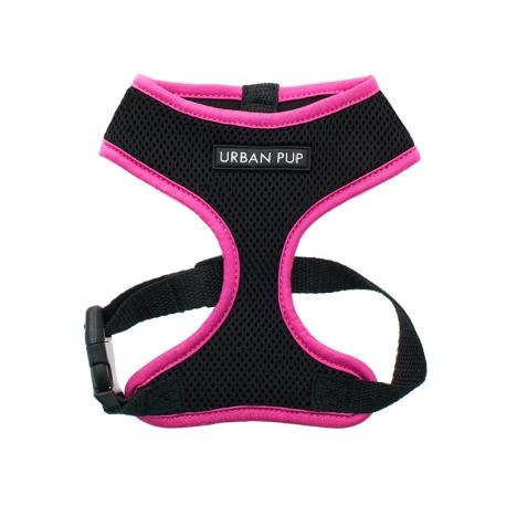 Postroj pro psy URBAN PUP - neon pink