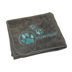 Ručník pro psy SHOW TECH z mikrovlákna 90x56cm - šedý