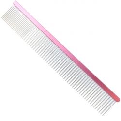 Hřeben pro psy 4PAWS 24,5cm - růžový