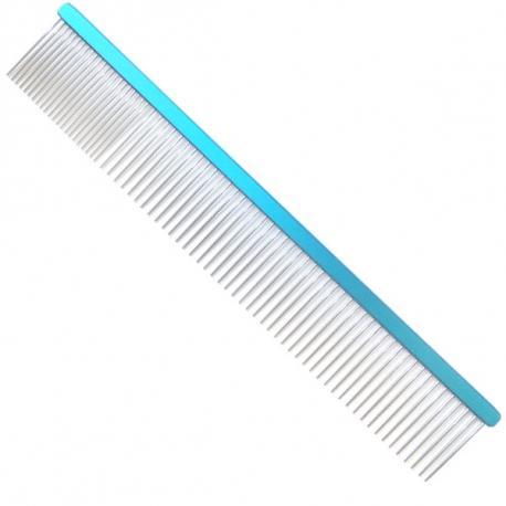 Hřeben pro psy 4PAWS 24,5cm - modrý