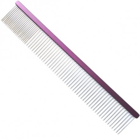 Hřeben pro psy 4PAWS 24,5cm - fialový