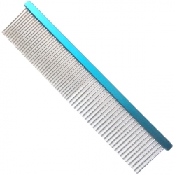 Hřeben pro psy 4PAWS 19cm - modrý