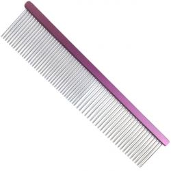 Hřeben pro psy 4PAWS 19cm - fialový