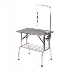Skládací upravovací stůl 81x52cm -  černý