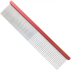 Hřeben pro psy 4PAWS 19cm - červený