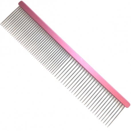 Hřeben pro psy 4PAWS 19cm růžový