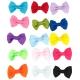 Mašličky na gumičce pro psy SHOW TECH Multicolor - set 50ks