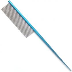 Hřeben 4Paws tupírovací modrý