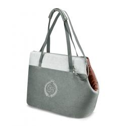 Cestovní taška pro psy PARIS šedá