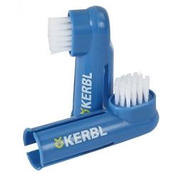 Zubní kartáček na prst pro psy KERBL 2ks