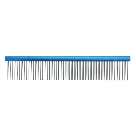 Hřeben pro psy 50/50 GROOM PROFESSIONAL 19cm modrý