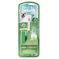 Set na čištění zubů pro psy TROPICLEAN střední a velká plemena