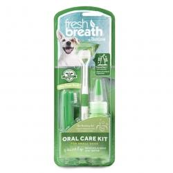 Set na čištění zubů TROPICLEAN pro malá plemena