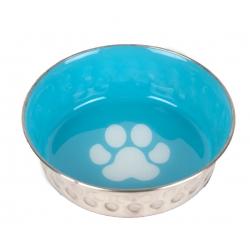 Nerezová miska pro psy SHOW TECH modrá 400ml