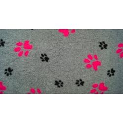 DryBed šedo-růžová