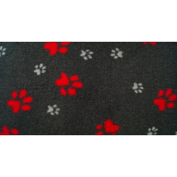 DryBed PREMIUM šedo-červená