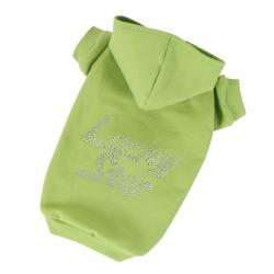 Mikina pro psy LUCKY STAR zelená