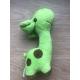 Pískací plyšová hračka pro psy ŽIRAFA