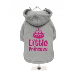 Mikina pro psy URBAN PUP Little Princess šedá