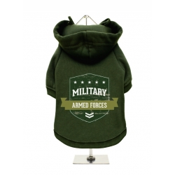 Mikina pro psy URBAN PUP Military Armed Forces