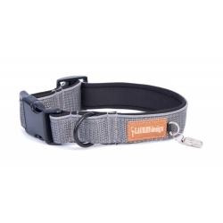 Obojek pro psy LAUREN šedý