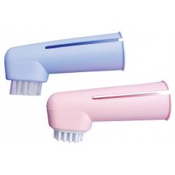 Zubní kartáček na prst pro psy SHOW TECH (2ks)