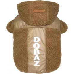 Mikina zateplená pro psy DOBAZ TEDDY - hnědá