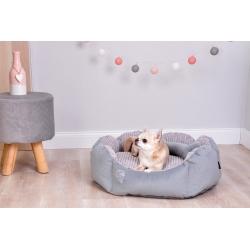 Pelíšek pro psy DIANA 55x50cm šedý
