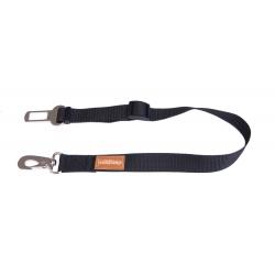 Bezpečnostní pás do auta pro psa LAUREN černý