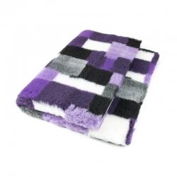 DryBed PREMIUM fialová vzor