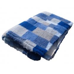 DryBed PREMIUM modrá vzor