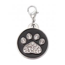 Přívěsek na obojek PAW DOG černý