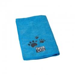 Ručník pro psy CHADOG z mikrovlákna 60x100cm modrý