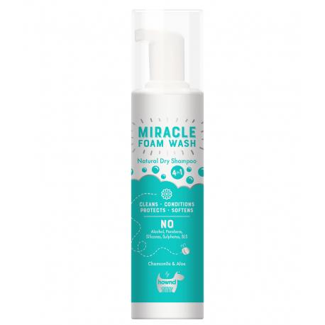 Bezoplachový pěnový šampon pro psy HOWND MIRACLE FOAM WASH 200ml