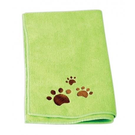 Ručník pro psy CHADOG z mikrovlákna 60x100cm zelený