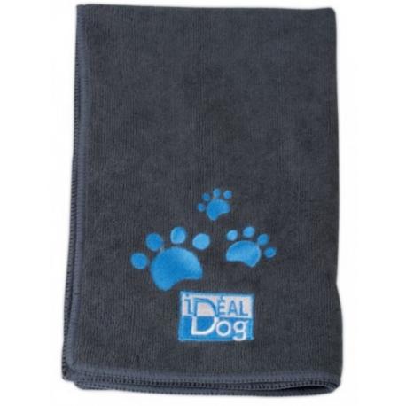 Ručník pro psy CHADOG z mikrovlákna 40x60cm šedý