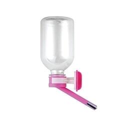 Automatická láhev na vodu pro psy 4PAWS růžová