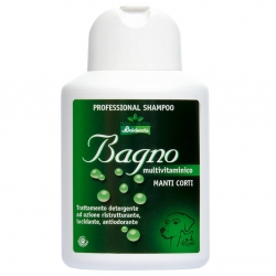 Šampon pro psy BALDECCHI BAGNO MULTIVITAMINIC na krátkou srst 250ml