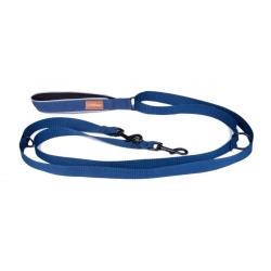 Přepínací vodítko pro psy LAUREN BLUE modré