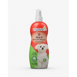 Zklidňující sprej na podrážděnou pokožku pro psy ESPREE HAZEL AFTERSHAVE 355ml