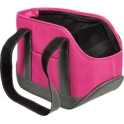 Cestovní taška pro psy ALEA MINI růžovo/šedá