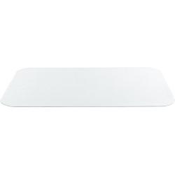 Protiskluzová transparentní podložka pod misky 48x30cm