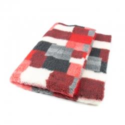 DryBed PREMIUM červená vzor