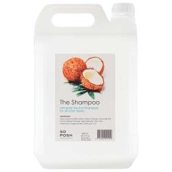 Šampon pro psy SO POSH THE SHAMPOO pro všechny typy srsti 5L