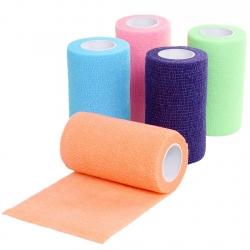 Bandáž elastická NEON 10cm/ 4,5m - různé barvy
