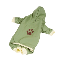 Kombinéza šusťáková pro psy PAW zelená