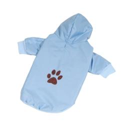 Bunda šusťáková pro psy PAW modrá