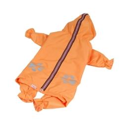 Kombinéza šusťáková pro psy REFLEX oranžová