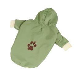 Bunda šusťáková pro psy PAW zelená